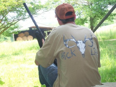 Deer Skull Hick Life Design (Mens)