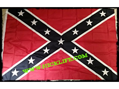 3 x 5  Rebel / Confederate Battle Flag
