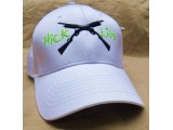 White Fitted Hat