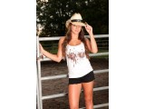 Brown Mudsplat Hick Life Tank Top